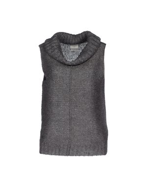 铅灰色 VERO MODA 圆领针织衫