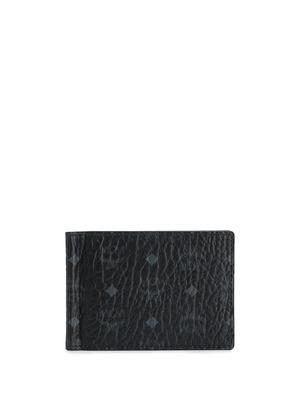 MCM logo wallet - Black