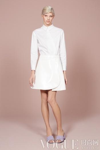 2014早秋系列 规整衬衣的时髦穿法