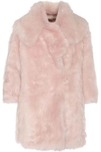 双面羊毛皮外套