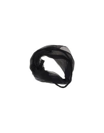 黑色 EMPORIO ARMANI 领部装饰