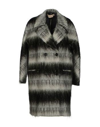 灰色 MARNI 大衣