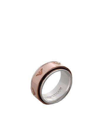 黄铜色 EMPORIO ARMANI 戒指