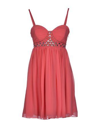 珊瑚红 LIPSY 短款连衣裙