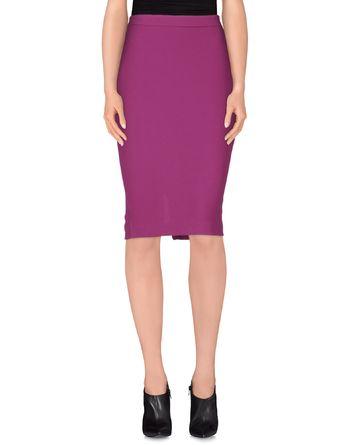 紫红 ADELE FADO QUEEN 及膝半裙