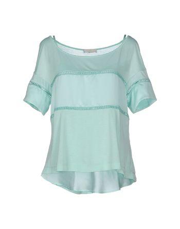 蓝绿色 SCERVINO STREET T-shirt