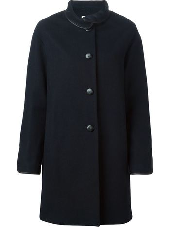 SESSUN loose fit buttoned coat