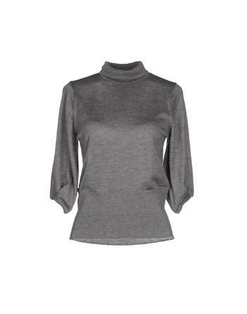 灰色 MALO 圆领针织衫