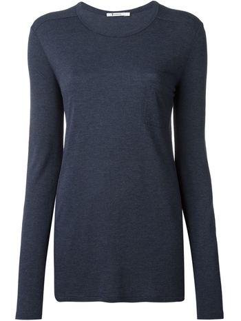 T BY ALEXANDER WANG longsleeved T-shirt