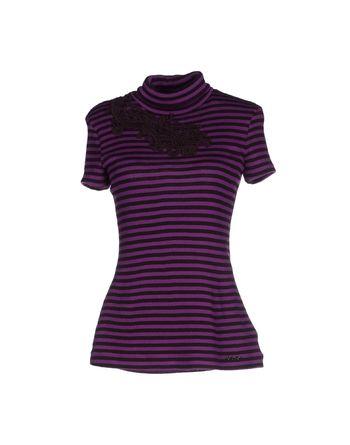 紫色 SCERVINO STREET 圆领针织衫