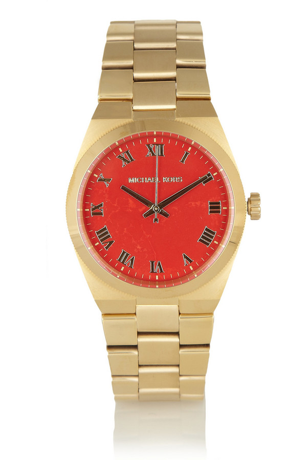 Channings 金色不锈钢腕表