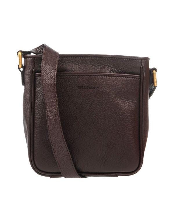 波尔多红 GIORGIO ARMANI Under-arm bags