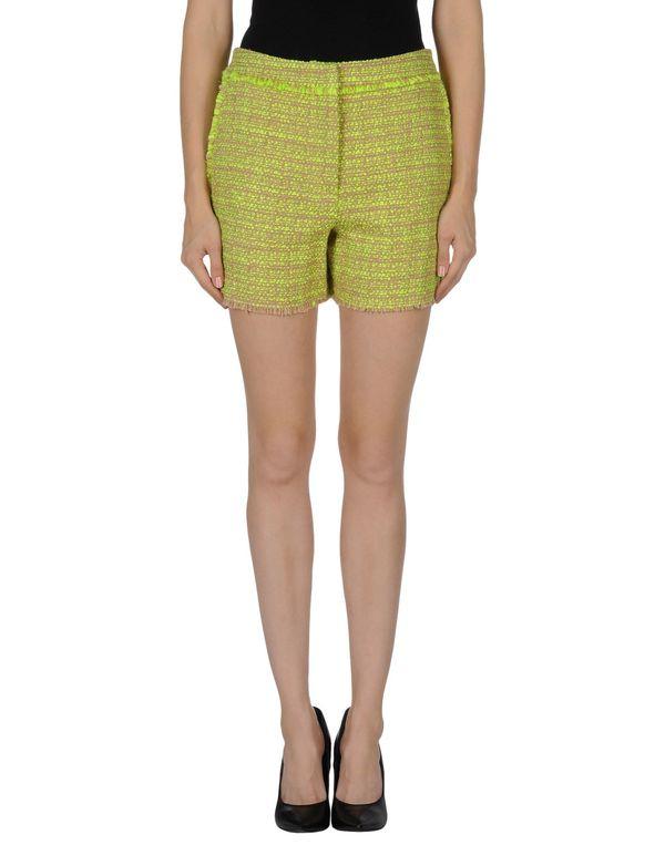 黄色 MSGM 短裤