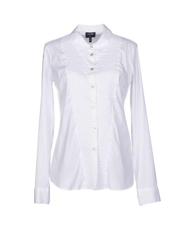 白色 ARMANI JEANS Shirt