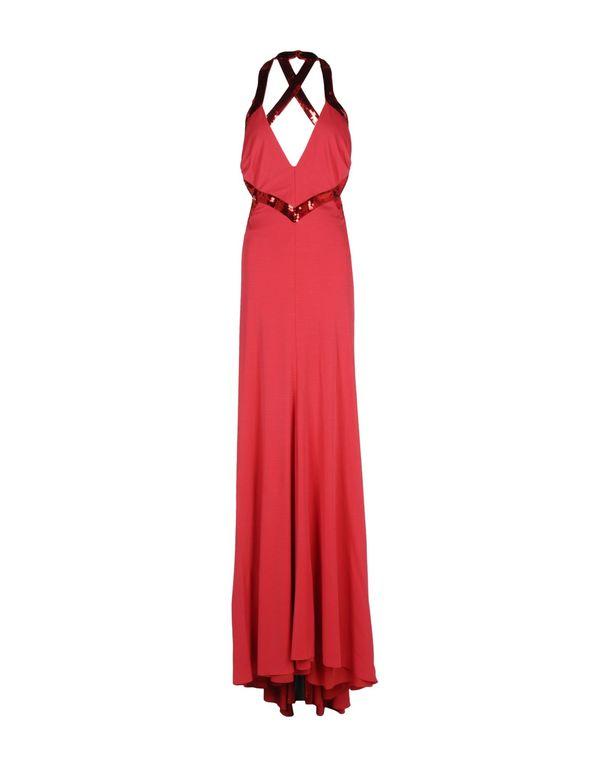 红色 ROBERTO CAVALLI 长款连衣裙