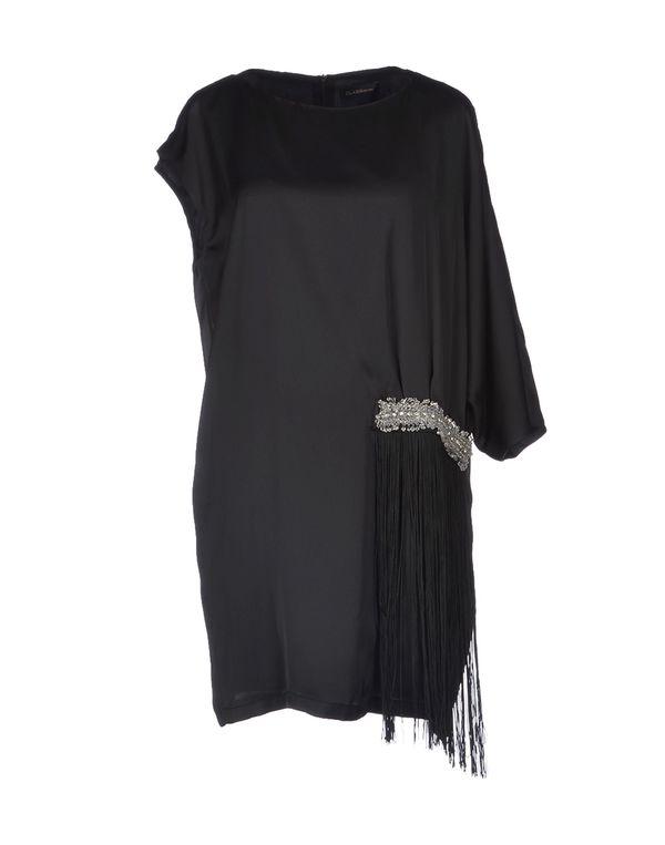 黑色 CLASS ROBERTO CAVALLI 短款连衣裙