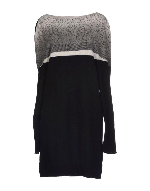 黑色 AVIÙ 短款连衣裙