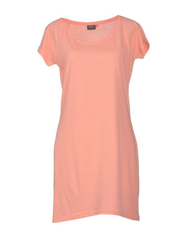 橙色 ONLY 短款连衣裙