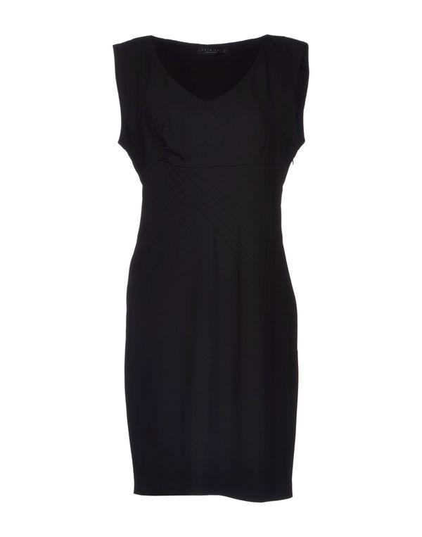 黑色 TWIN-SET SIMONA BARBIERI 短款连衣裙