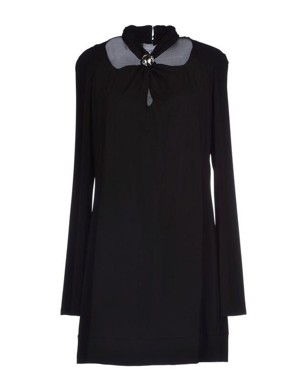 黑色 PF PAOLA FRANI 短款连衣裙