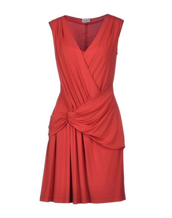 红色 PHILOSOPHY DI A. F. 短款连衣裙