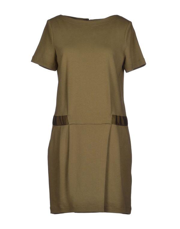 军绿色 PINKO GREY 短款连衣裙