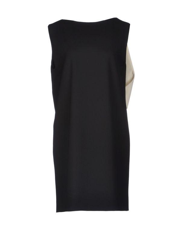 黑色 MSGM 短款连衣裙
