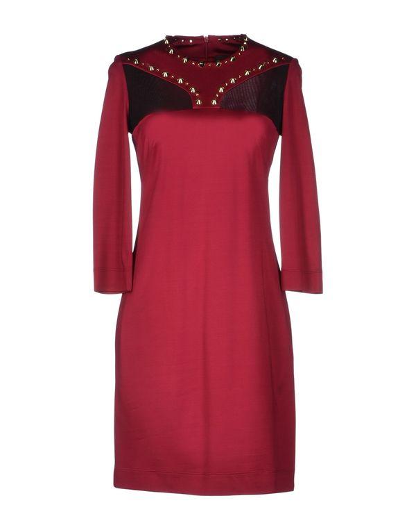 波尔多红 JUST CAVALLI 短款连衣裙