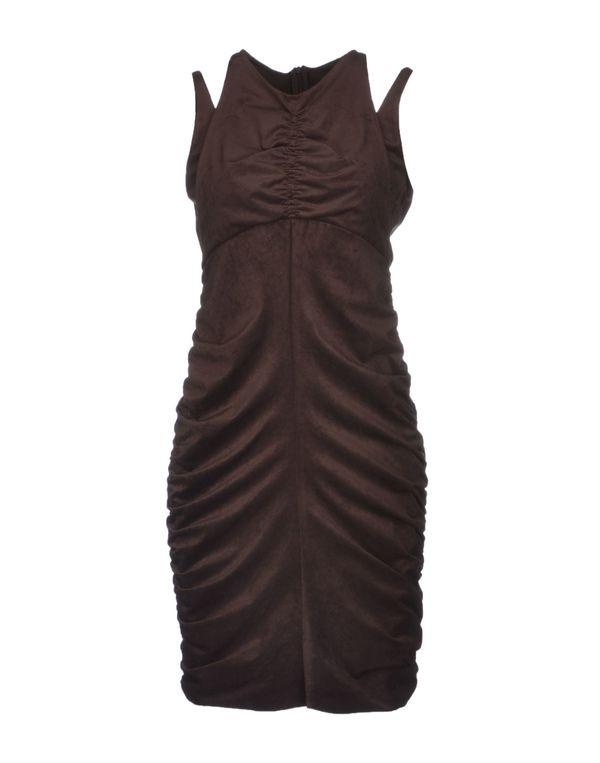 深棕色 PINKO GREY 短款连衣裙