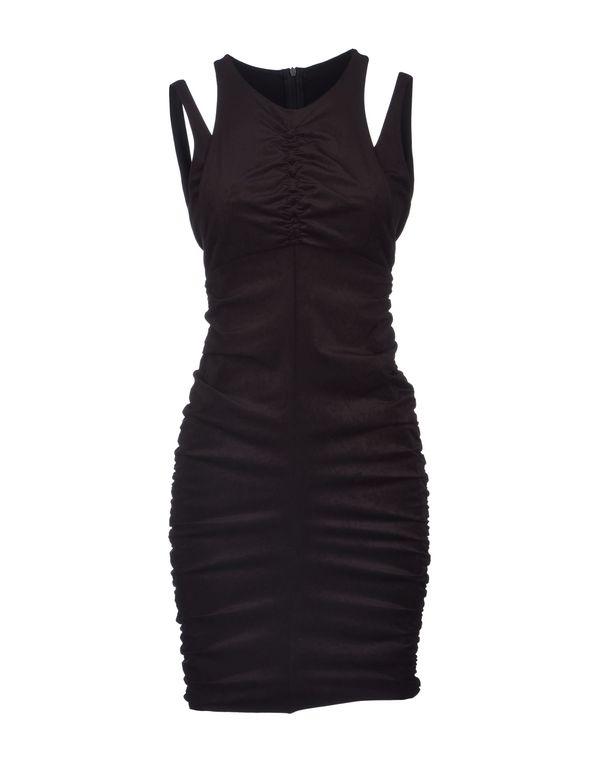 黑色 PINKO GREY 短款连衣裙