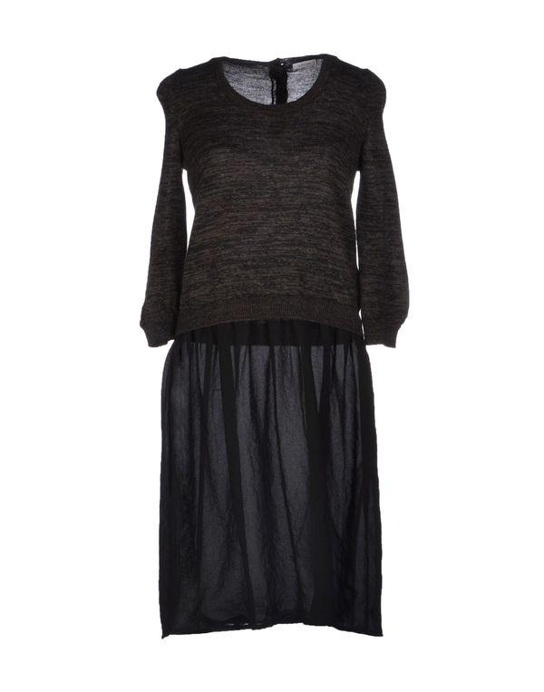 铅灰色 GOLD CASE 短款连衣裙