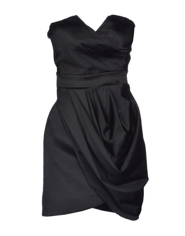 黑色 ADELE FADO 短款连衣裙