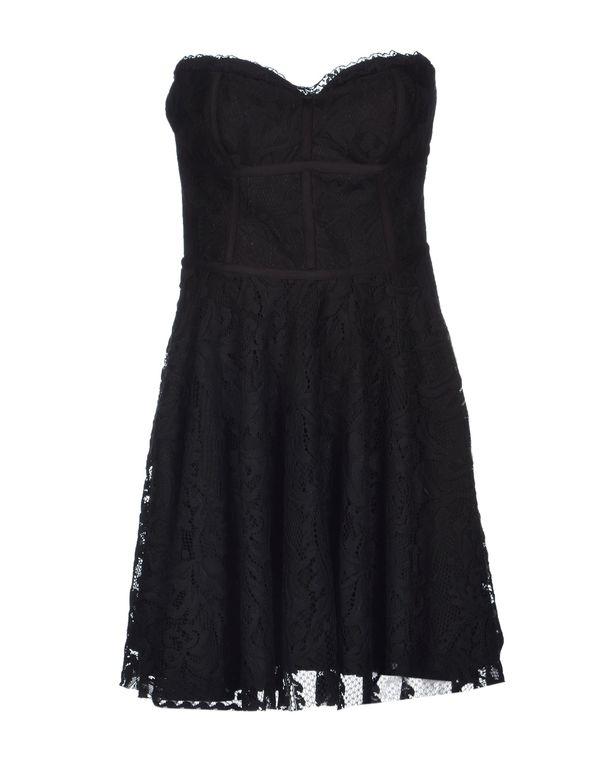 黑色 HANITA 短款连衣裙