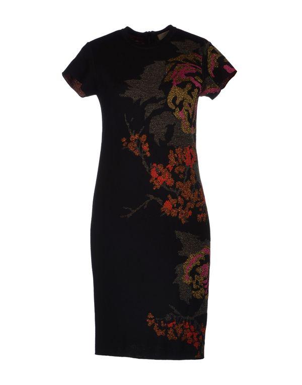 黑色 NUDE 短款连衣裙