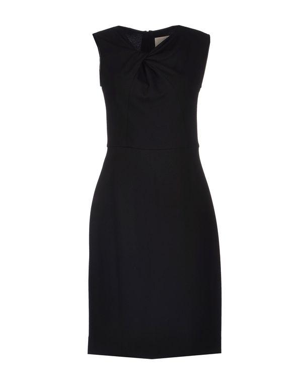 黑色 JASON WU 及膝连衣裙