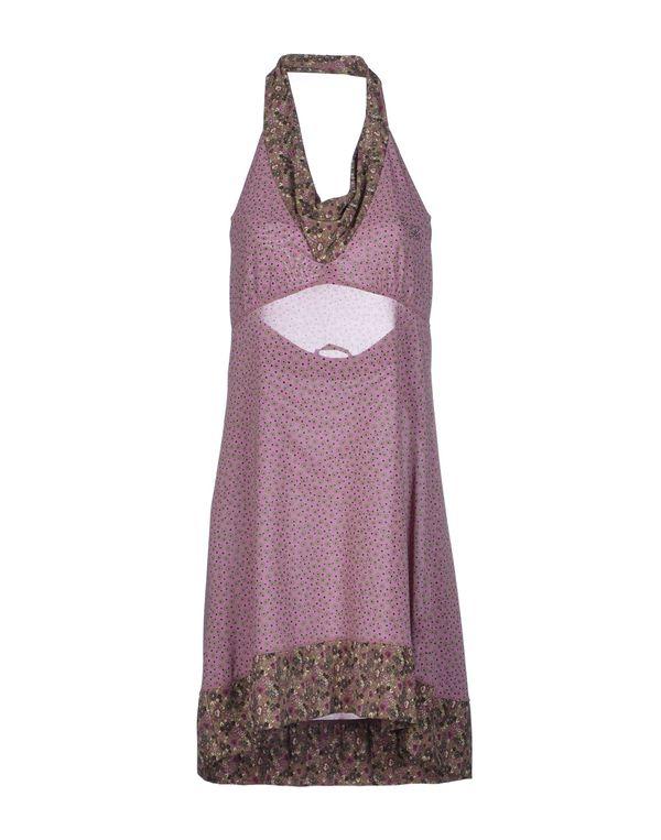 紫红 LIU •JO 短款连衣裙