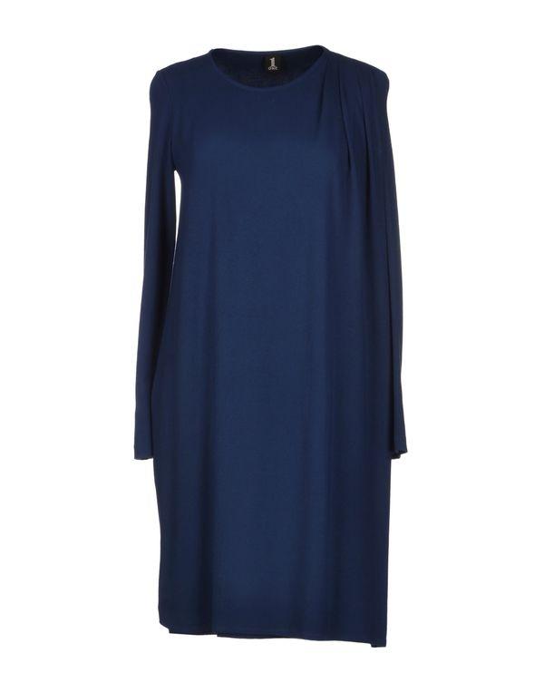 蓝色 1 ONE 短款连衣裙