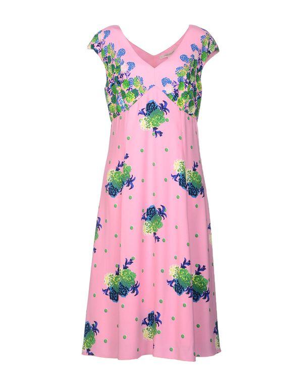 粉红色 MARC JACOBS 及膝连衣裙