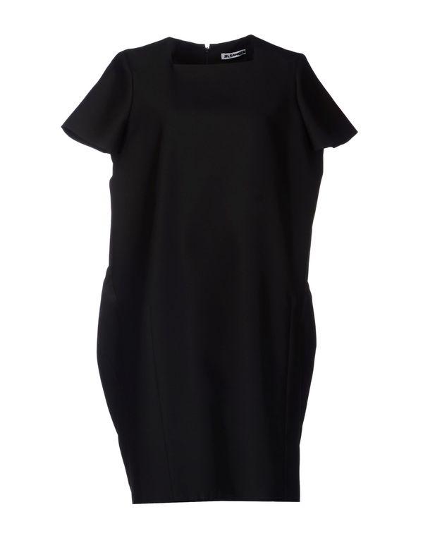 黑色 JIL SANDER 短款连衣裙