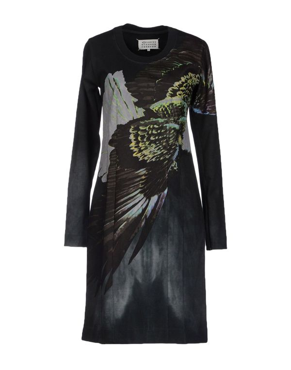 青灰色 MAISON MARTIN MARGIELA 1 短款连衣裙