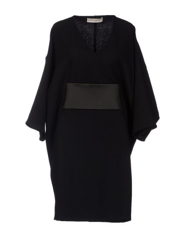 黑色 VERONIQUE BRANQUINHO 短款连衣裙
