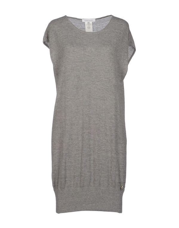 灰色 PIERRE BALMAIN 短款连衣裙