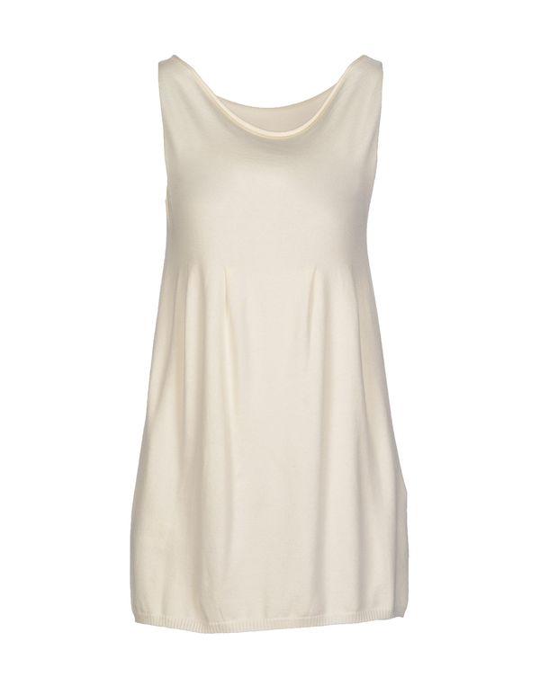 象牙白 SCEE BY TWIN-SET 短款连衣裙