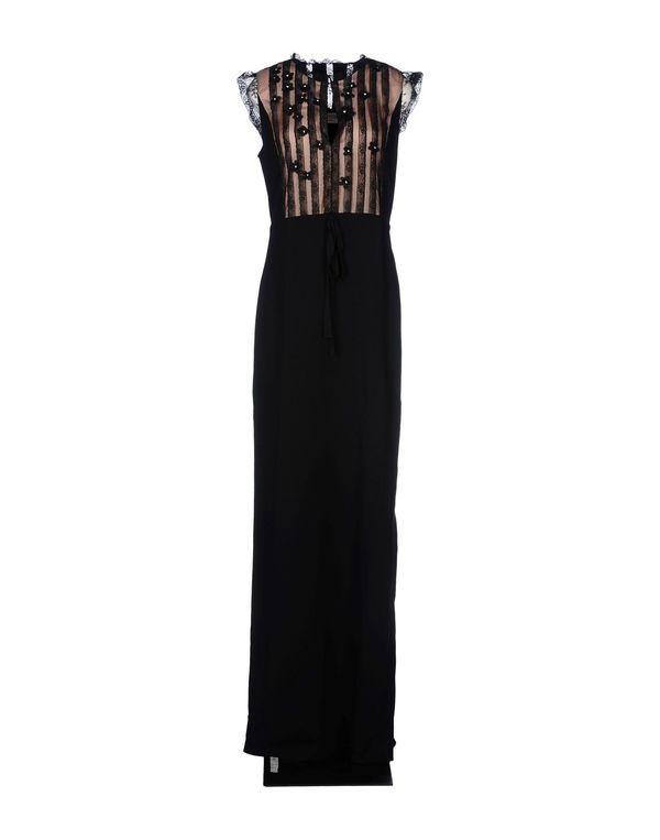 黑色 VALENTINO ROMA 长款连衣裙