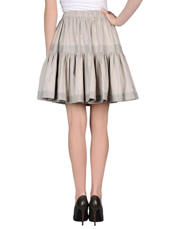 淡灰色 Y-3 及膝半裙