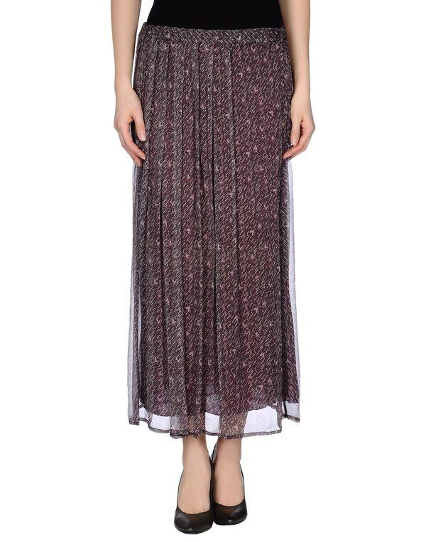 波尔多红 ALMERIA 半长裙