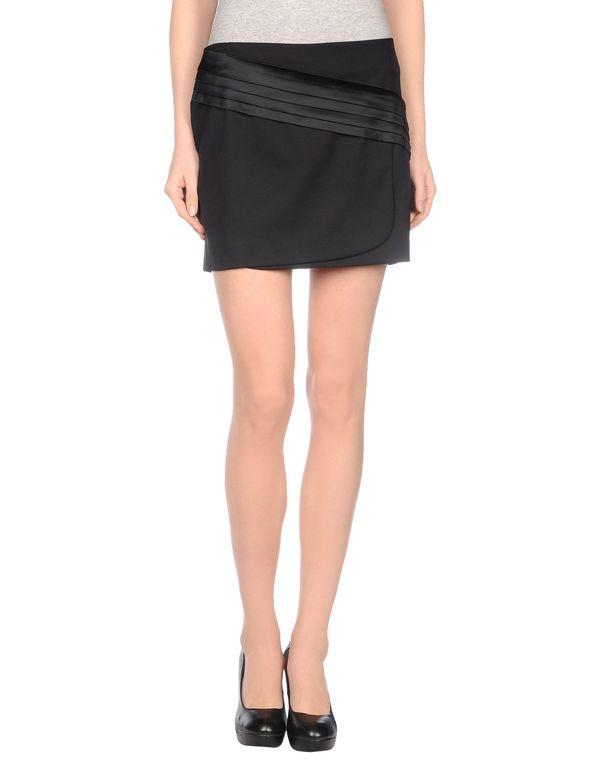 黑色 PINKO BLACK 超短裙