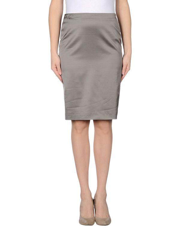 灰色 EMPORIO ARMANI 及膝半裙