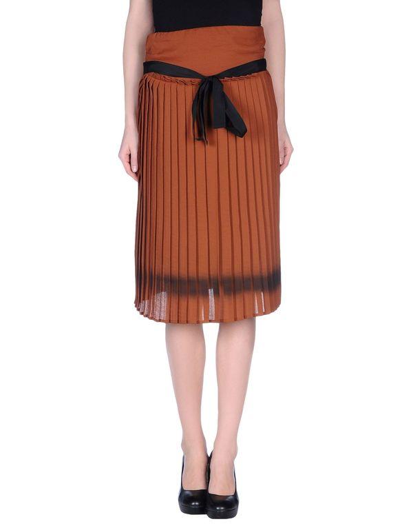 棕色 JUCCA 半长裙