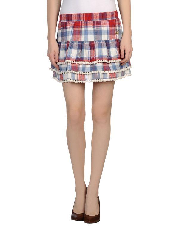 红色 ATELIER FIXDESIGN 超短裙